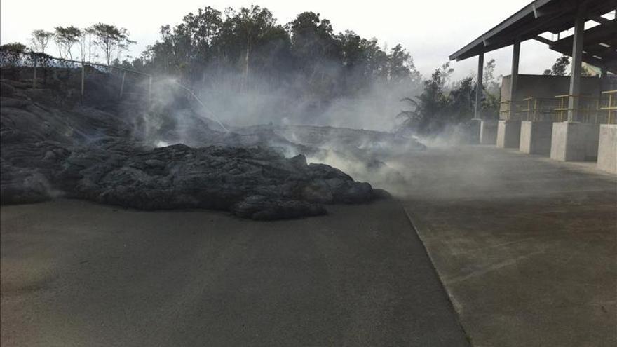 Lava del volcán Kilauea en Hawai se estabiliza y no avanza desde el sábado
