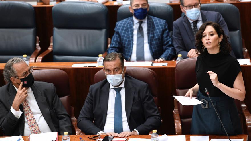 """Ayuso exige a Podemos que aclare en la Asamblea """"si Cuba es una dictadura"""""""