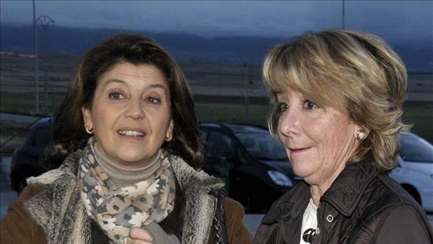 El PP de Madrid ve increíble que se revele la nueva multa al coche de Aguirre