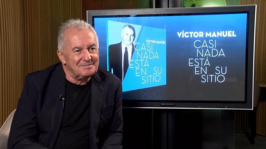 Víctor Manuel presentará en Santander el 15 de febrero su nuevo trabajo 'Casi nada está en su sitio'