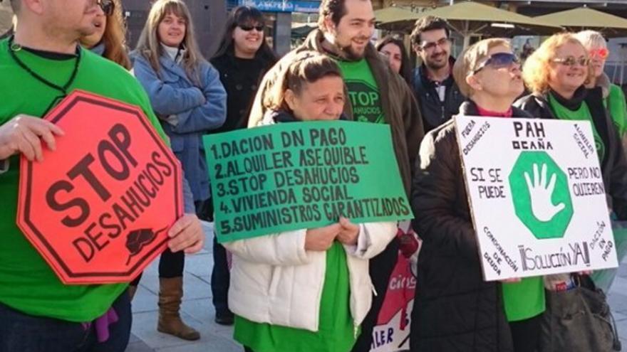 Manifestación de la PAH en Toledo / Stop Desahucios