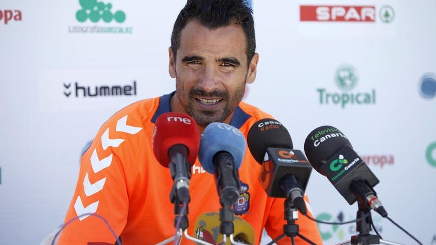 Ángel López, defensa de la UD Las Palmas
