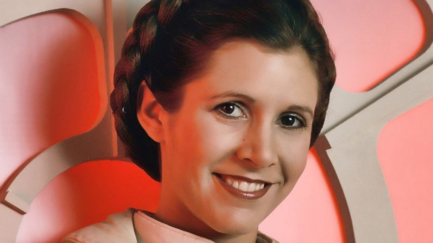 Carrie Fisher como Princesa Leia