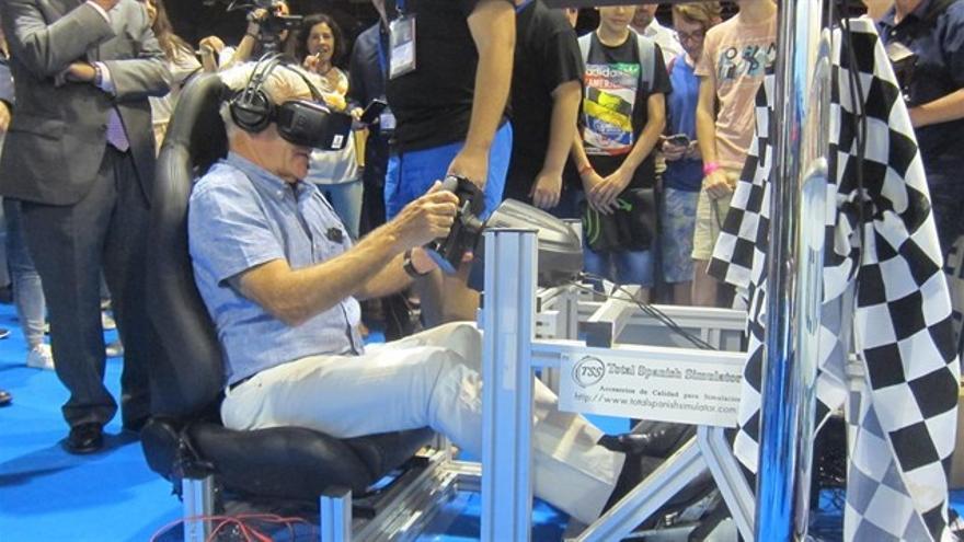 Joan Ribó se entrega a los videojuegos en el DreamHack