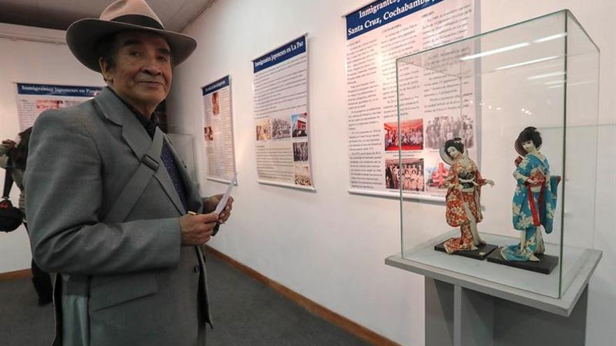 Una muestra conmemora los 120 años de las inmigraciones japonesas a Bolivia