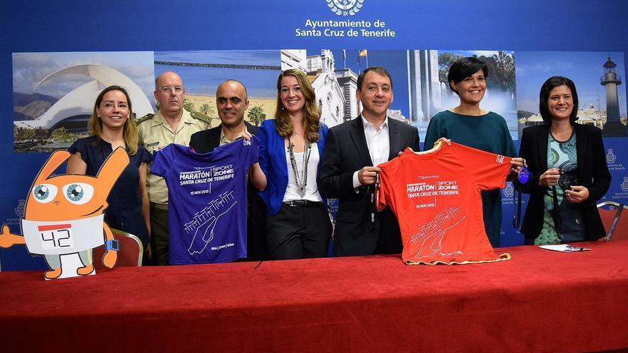 El Ayuntamiento presentó la segunda edición del Maratón de Santa Cruz