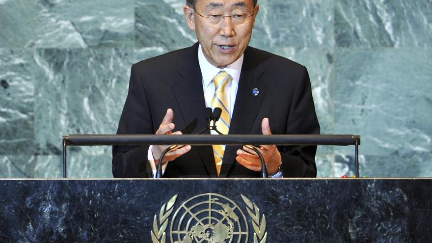"""Ban dice que detener los crímenes en Siria es """"el deber de nuestra generación"""""""