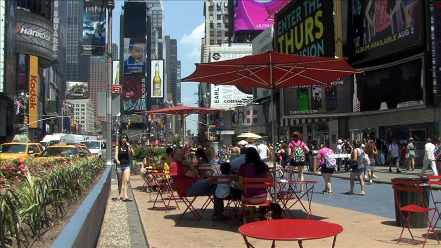 Nueva York vive las fiestas navideñas más calurosas de los últimos veinte años