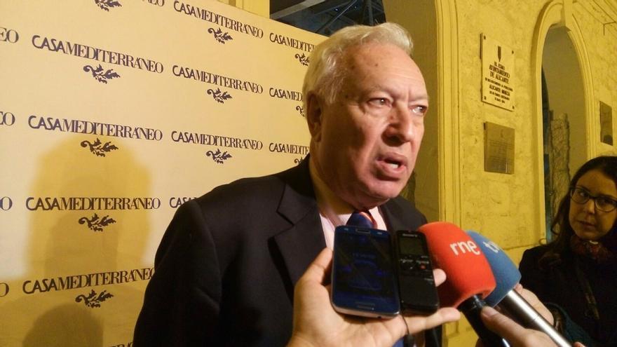 """Margallo dice que el PSOE """"dispara antes de apuntar"""" al pedir la dimisión del embajador Gustavo Arístegui"""