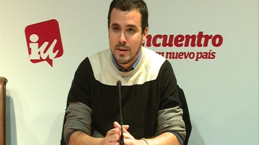 """Garzón (IU) cree que el PSOE andaluz no está siendo """"lo suficientemente contundente"""" contra la corrupción"""