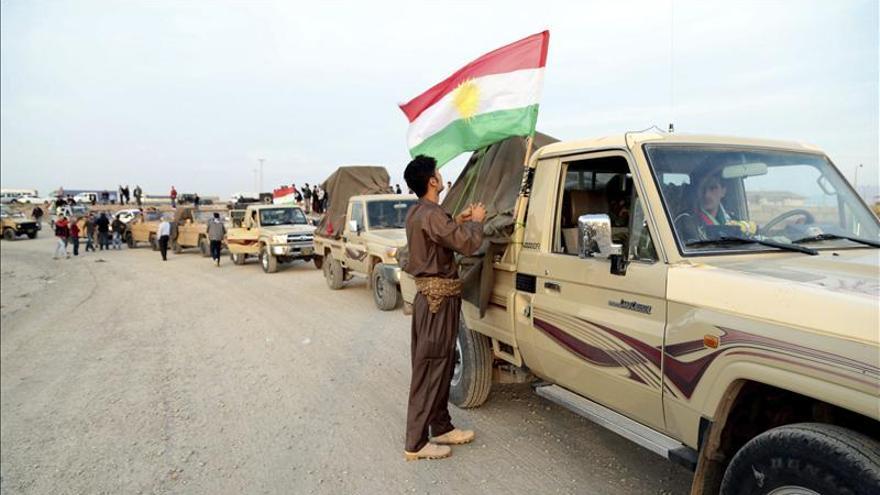 El EI se repliega de partes del este del Kobani ante avance de los kurdos