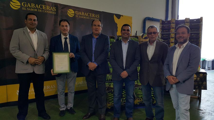 Acto celebrado en la sede de Europlátano en Los Llanos.