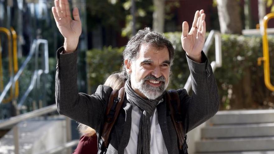 Cuixart avisa de que no renunciará a las libertades nacionales por 17 años de cárcel