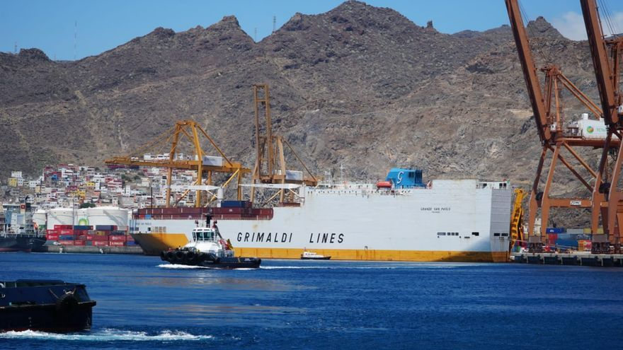 Grimaldi Lines vuelve a Tenerife para retomar el tráfico tricontinental de mercancías tras el paréntesis de la COVID-19