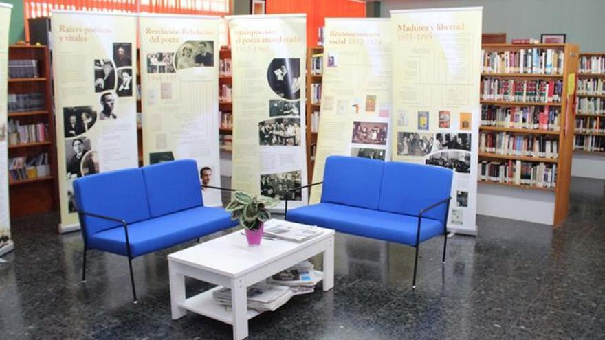 En la imagen, Biblioteca Municipal de Los Llanos.