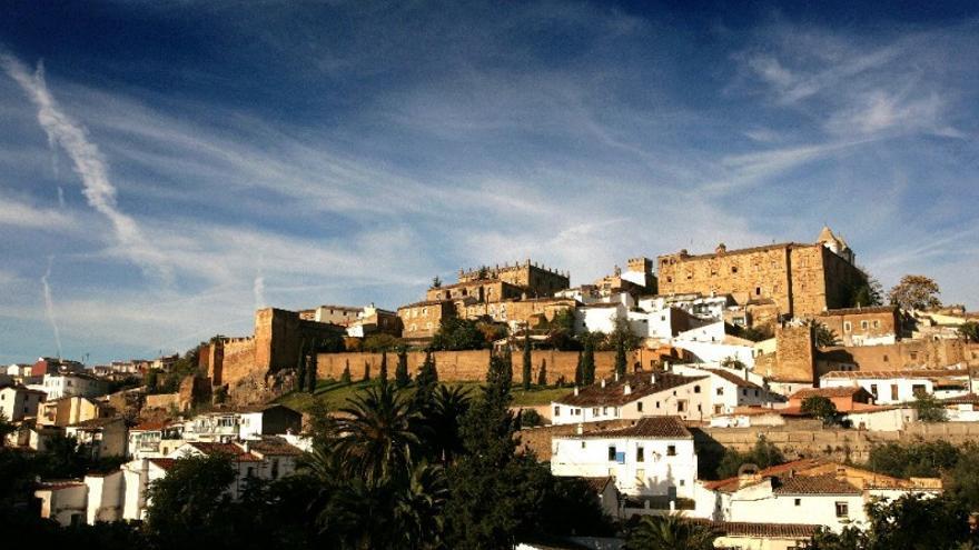 Ciudad Monumental de Cáceres desde el Mirador de San Marquino