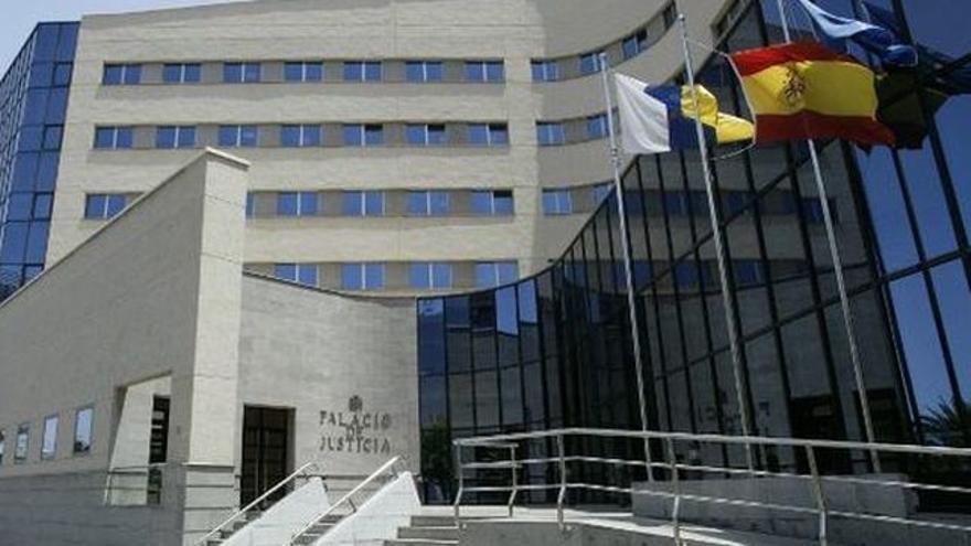 Palacio de Justicia de la provincia tinerfeña, en Tres de Mayo, Santa Cruz