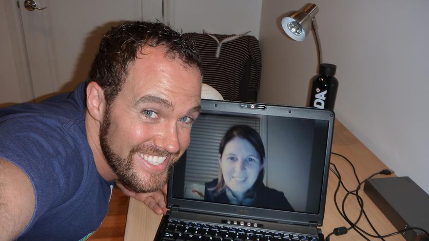 Las conversaciones por Skype limitan la experiencia comunicativa