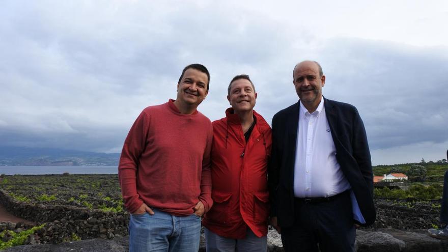 El presidente de Castilla-La Mancha en Azores