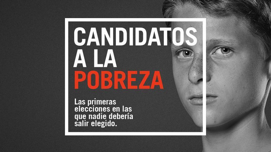 Imagen de la campaña Candidatos a la pobreza.