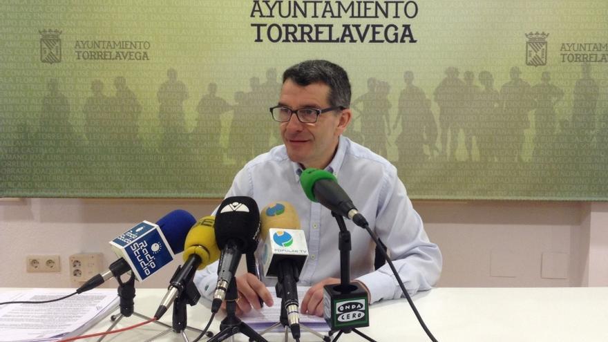 El concejal de Hacienda del Ayuntamiento de Torrelavega, Pedro Pérez Noriega