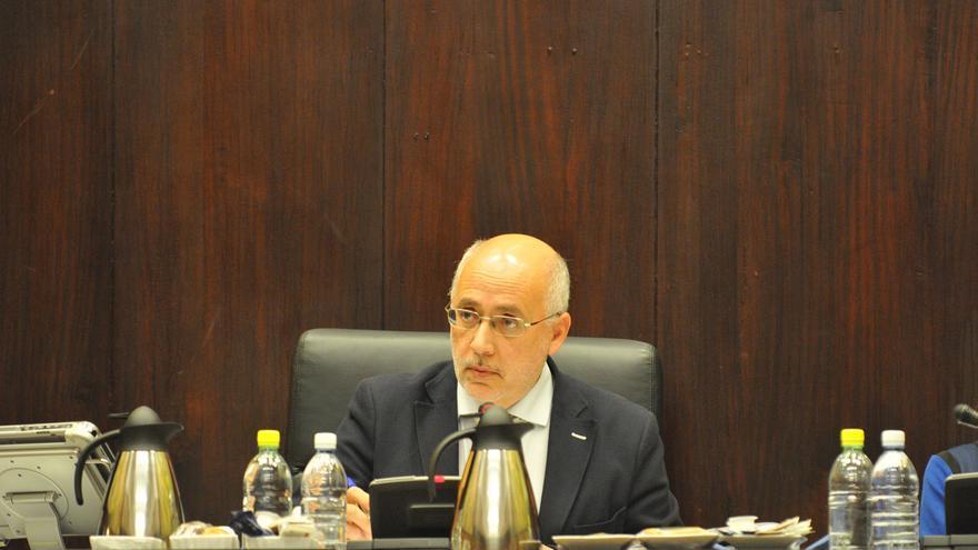 El presidente del Cabildo de Gran Canaria, Antonio Morales. (Acfi Press)