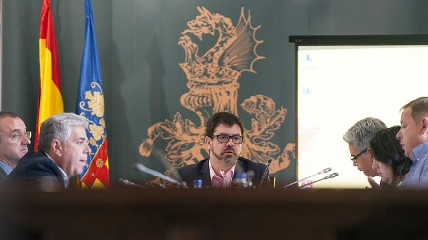 Imagen de la primera sesión de la comisión de investigación de Imelsa
