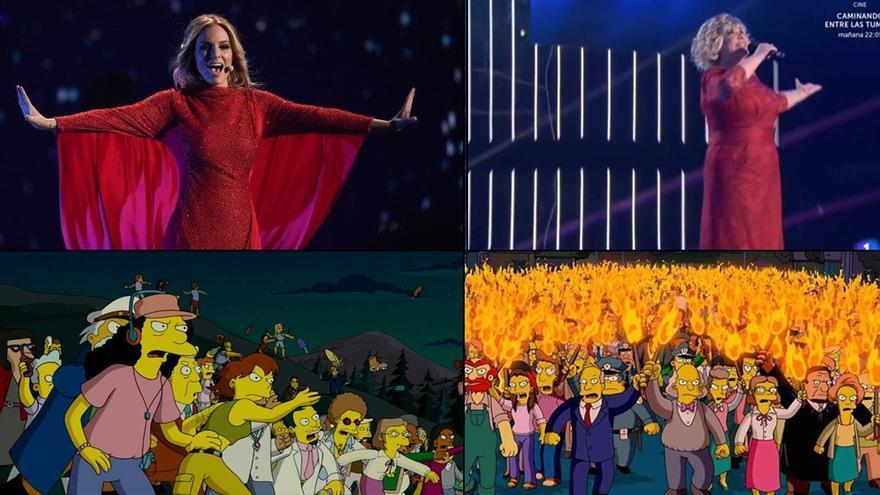 De la 'nueva' Edurne a Aída Nizar: Los memes de la gala de 'Objetivo Eurovisión'