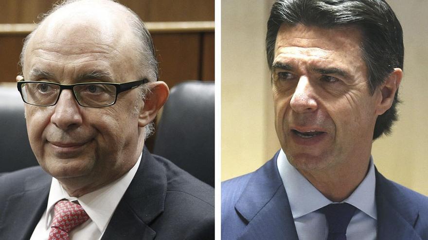 Cristobal Montoro y José Manuel Soria.