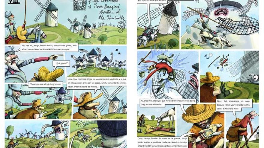 """Traducir el """"Quijote"""" al """"spanglish"""" responde a una necesidad social en EE.UU."""