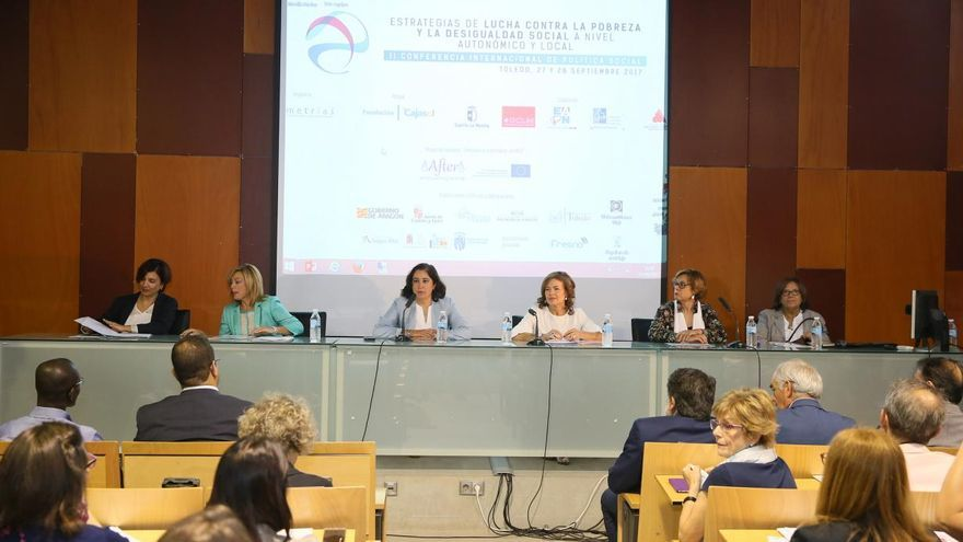 Inauguración de la II Conferencia Internacional de Política Social en Toledo