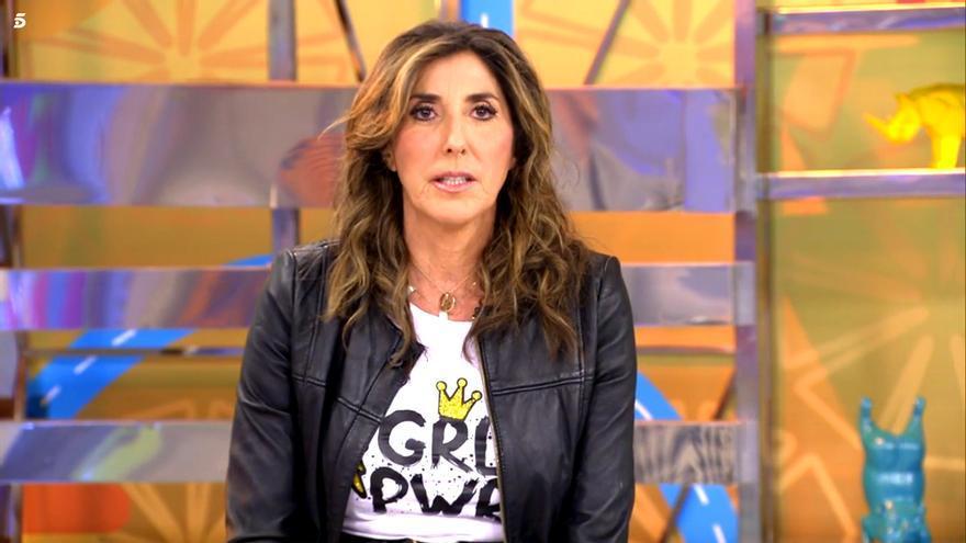 Paz Padilla en su regreso a 'Sálvame'