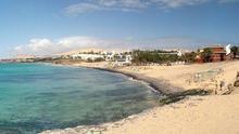 Costa Calma, en Fuerteventura.