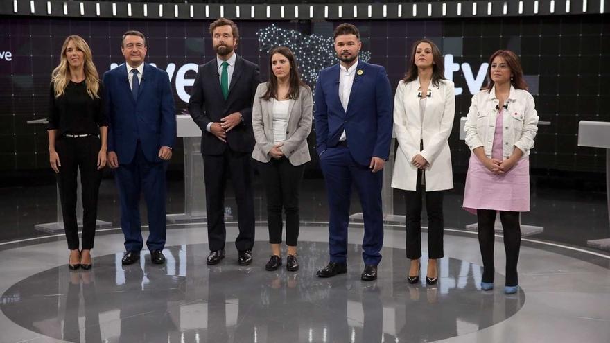 """El PP cierra el debate pidiendo a los electores """"no tirar el voto"""" apoyando a Ciudadanos y Vox"""