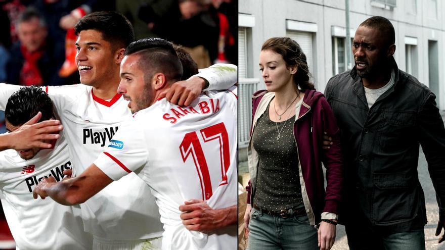 Sevilla-Leganés de Copa, y Asalto en París