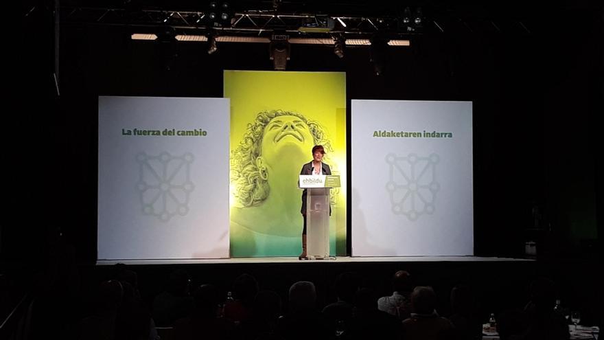 """Bakartxo Ruiz (EH Bildu) afirma que """"estamos en una situación mejor"""" y apuesta por """"profundizar en el cambio"""""""