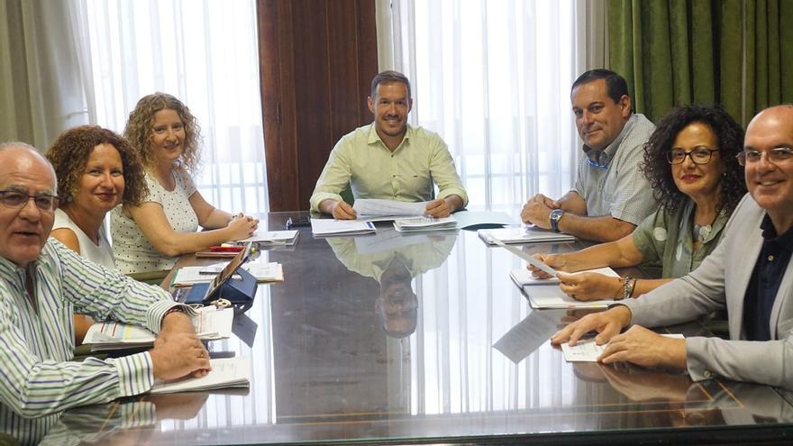 Consejo de Gobierno del Cabildo de La Palma.