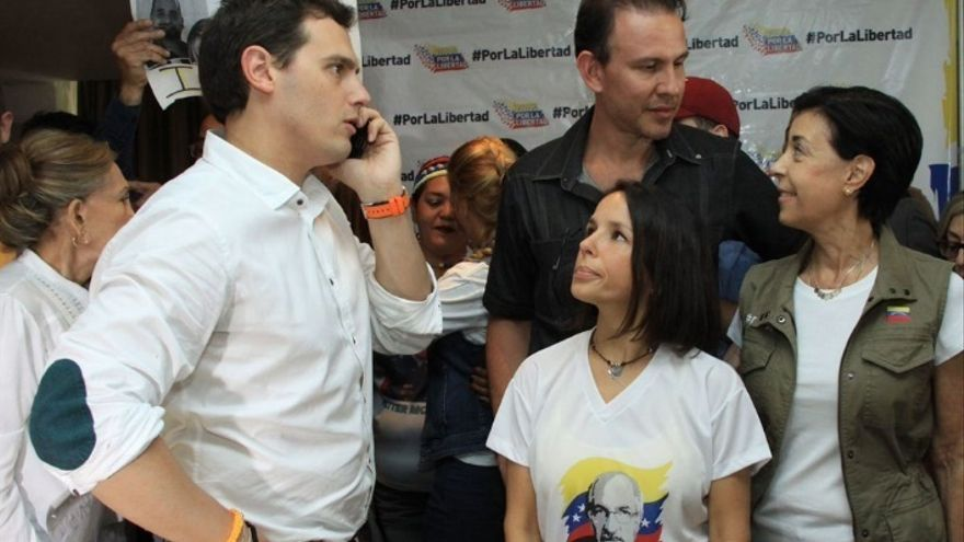 Ciudadanos se pregunta si ha tenido que ir Rivera a Venezuela para que el Gobierno sepa que hay 200.000 españoles allí