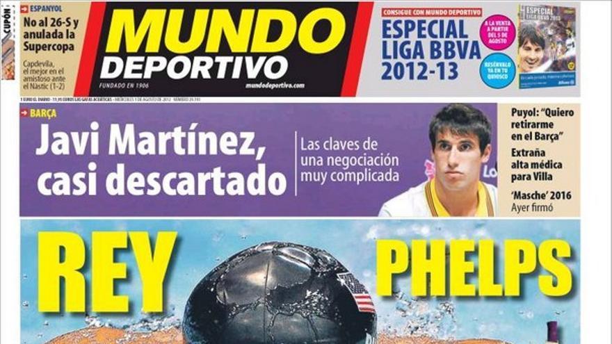 De las portadas del día (01/08/2012) #14