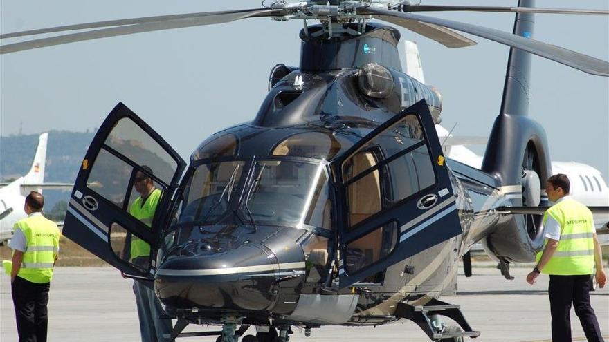 El Eucoropter EC-155B1 que los Albertos han puesto a la venta.