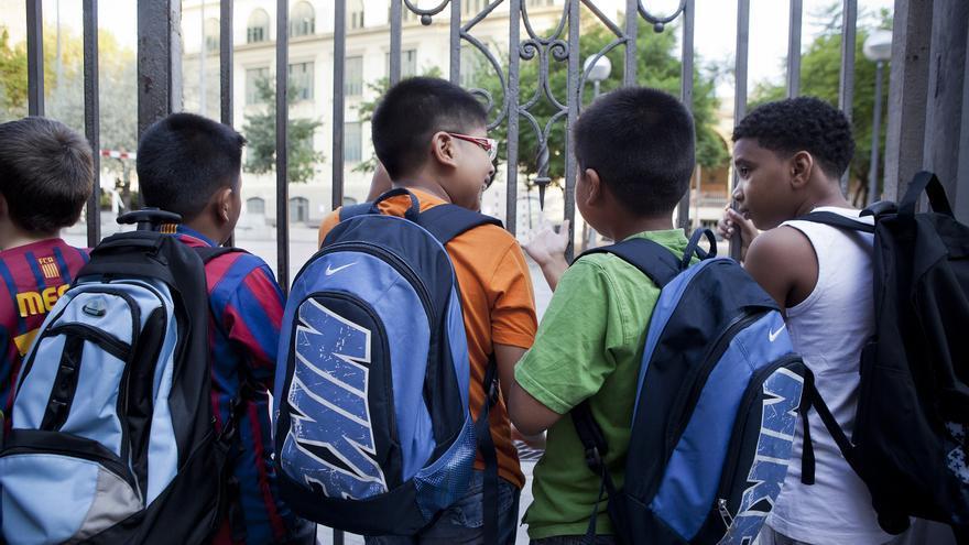 La Plataforma por la Defensa de la Educación Pública ha convocado encierros para el inicio de curso. /EDU BAYER