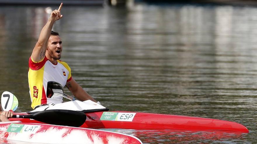 Craviotto, en su participación en los Juegos Olímpicos de Río.