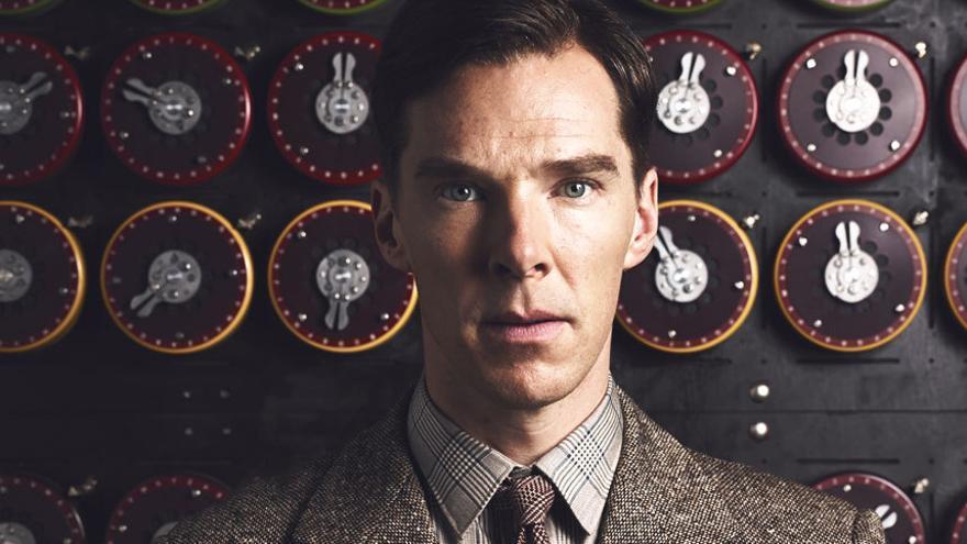 Benedict Cumberbatch como Alan Turing en Descifrando Enigma