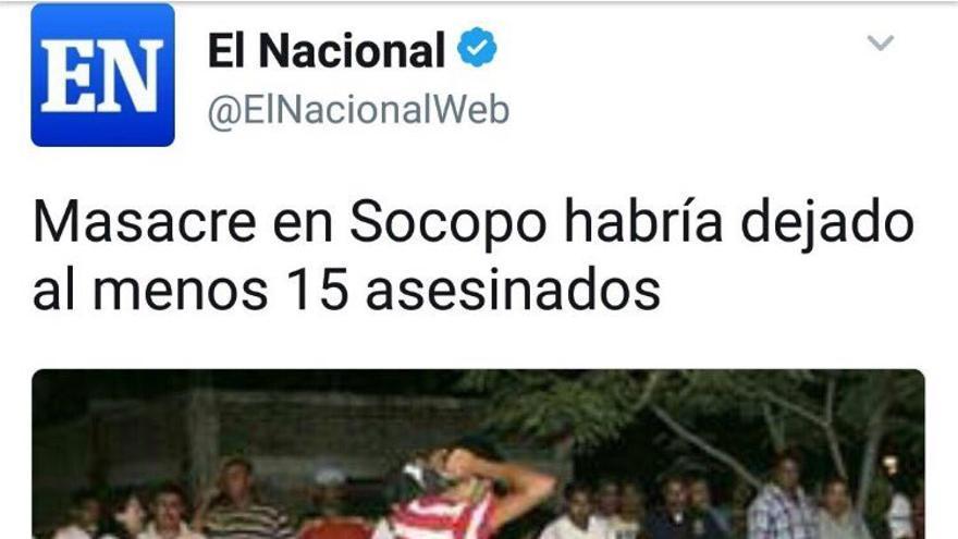 Masacre Venezuela