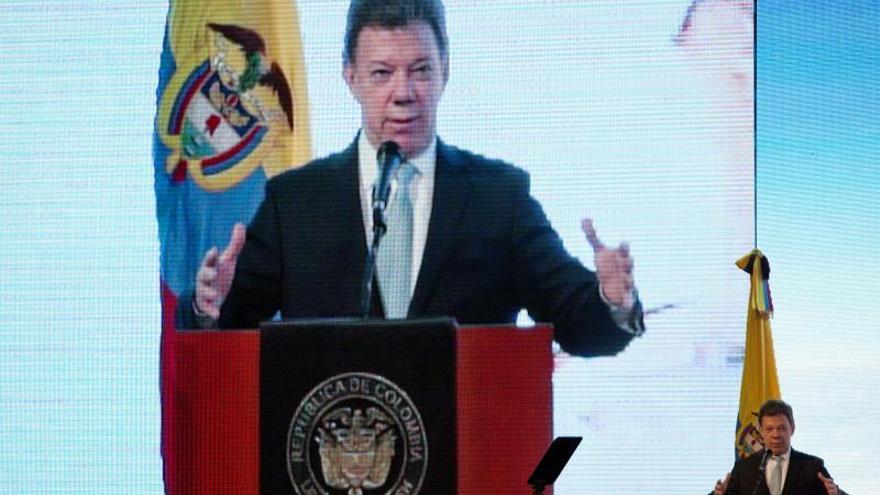El presidente de Colombia llega a Honduras para la investidura de Hernández