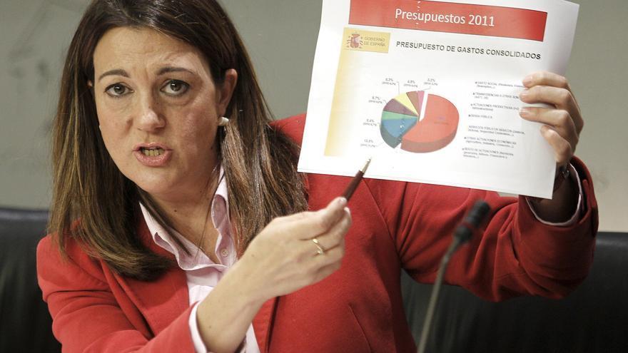 """El PSOE califica los presupuestos como los """"más maquillados"""" de la democracia"""