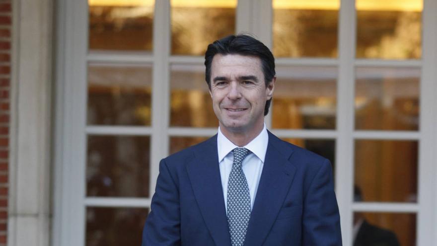 José Manuel Soria cuando fue nombrado ministro de Industria, Energía y Turismo