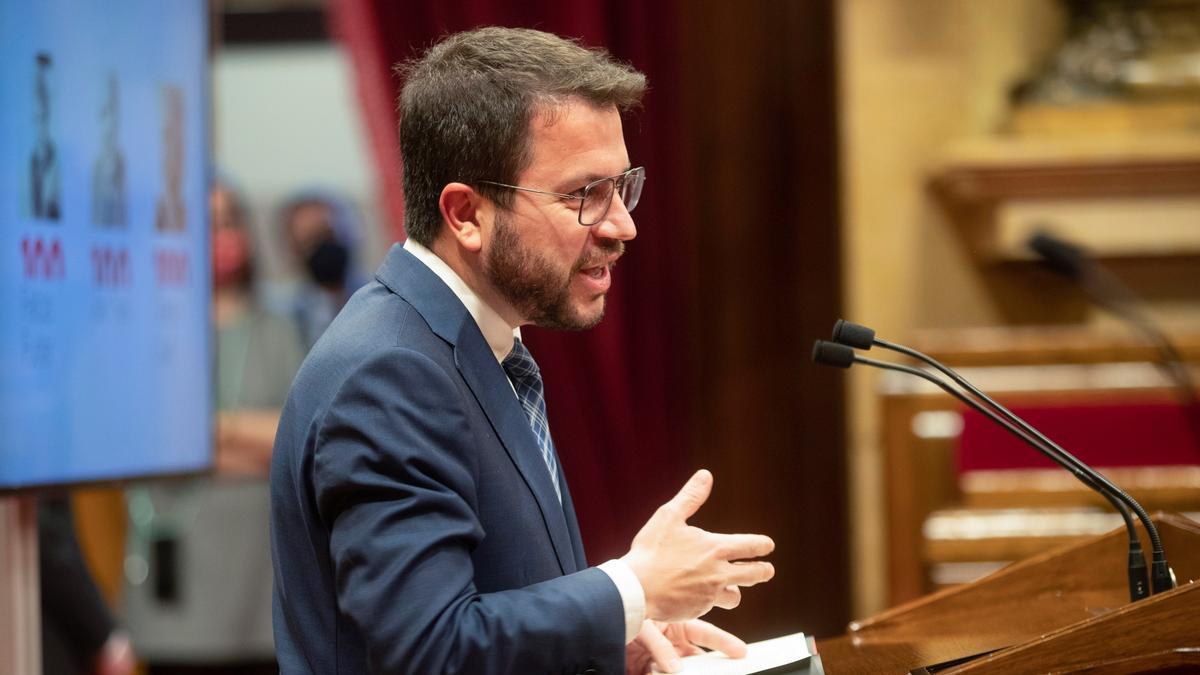 El vicepresidente del Govern en funciones, Pere Aragonès. EFE/Marta Pérez/Archivo