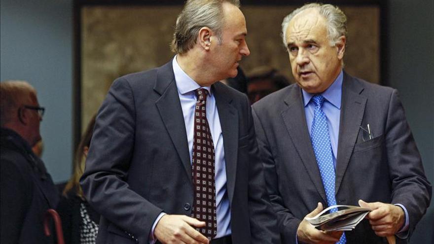 """Alberto Fabra (PP) dice que Blasco cometió """"una falta de lealtad y de respeto"""""""