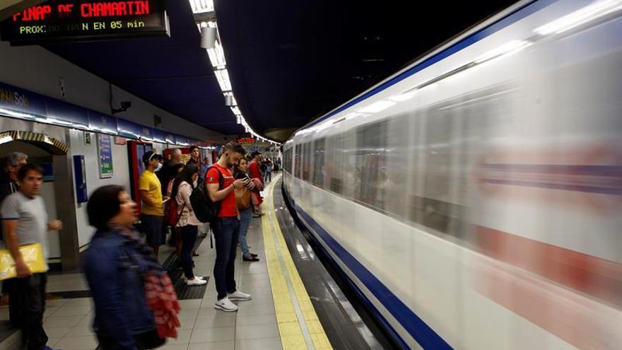 Los maquinistas de Metro de Madrid llevan a cabo su tercera jornada de paros